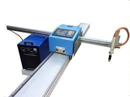 Portable plasma cutting machine