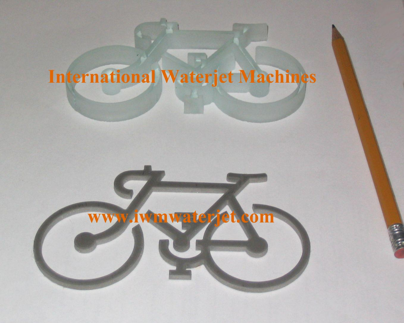 glass/stainless steel bikes