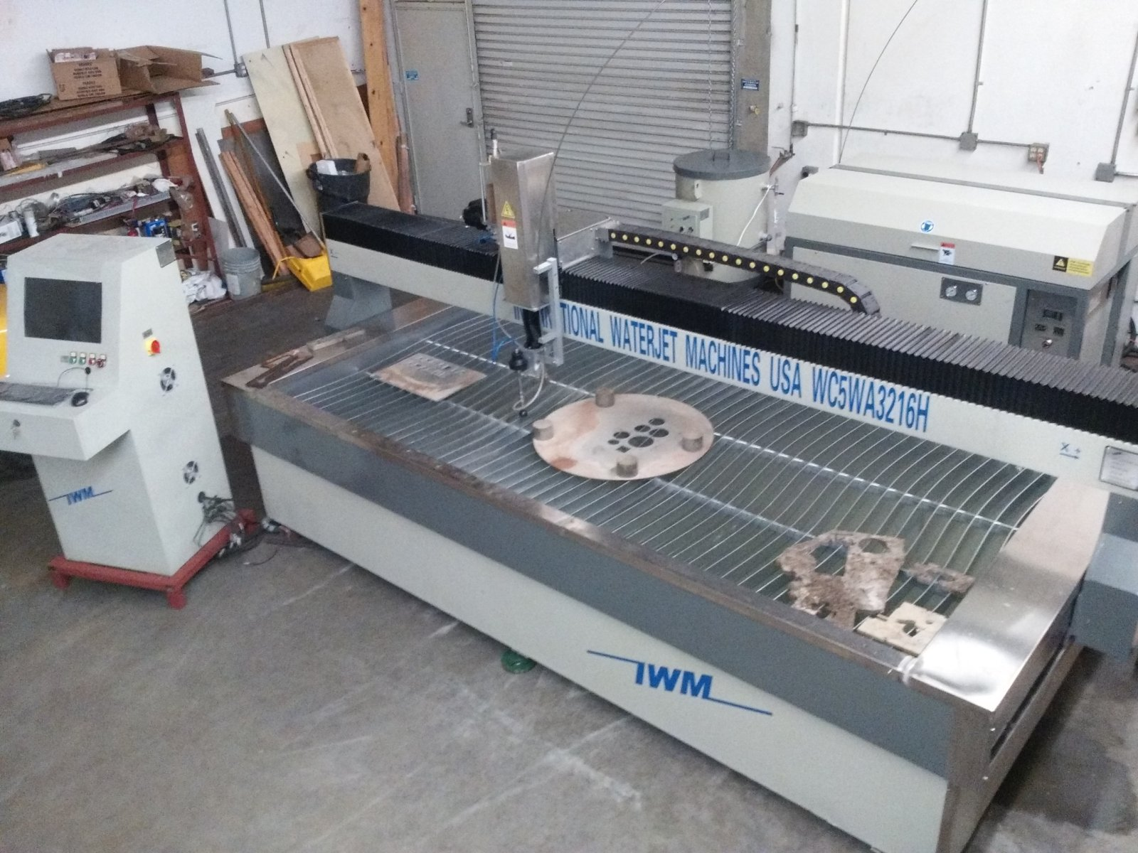 Used Waterjet cutter, Products of IWM waterjet Machines